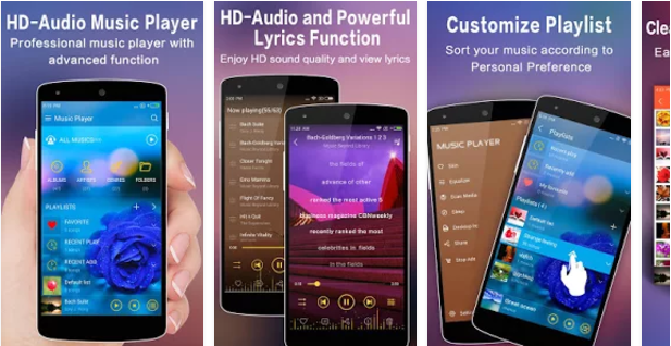 10 Best Music Player Apps for Android Mobile Phones