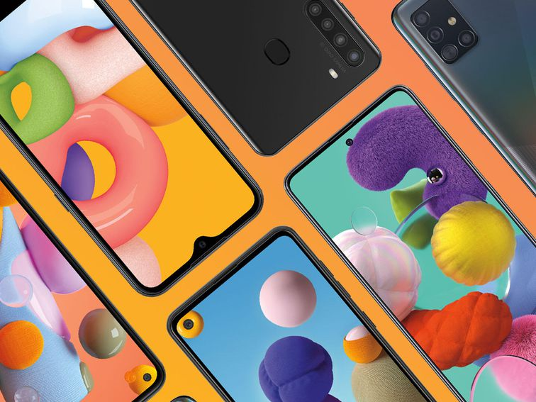 Samsung Galaxy A Series: New lineup starts at $110 and two models have 5G