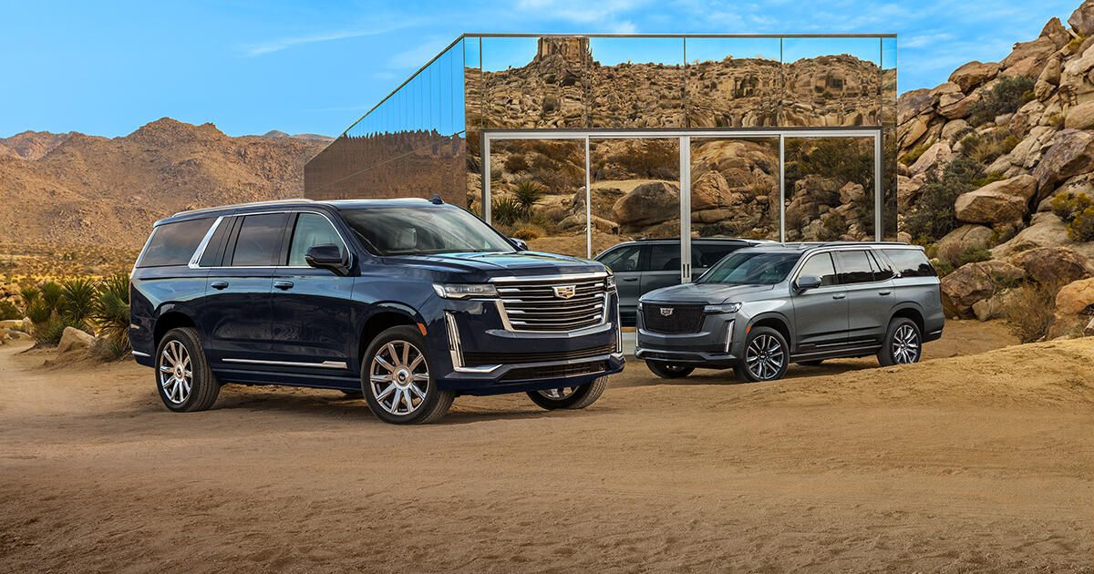 2021 Cadillac Escalade ESV shows face, goes on sale this fall