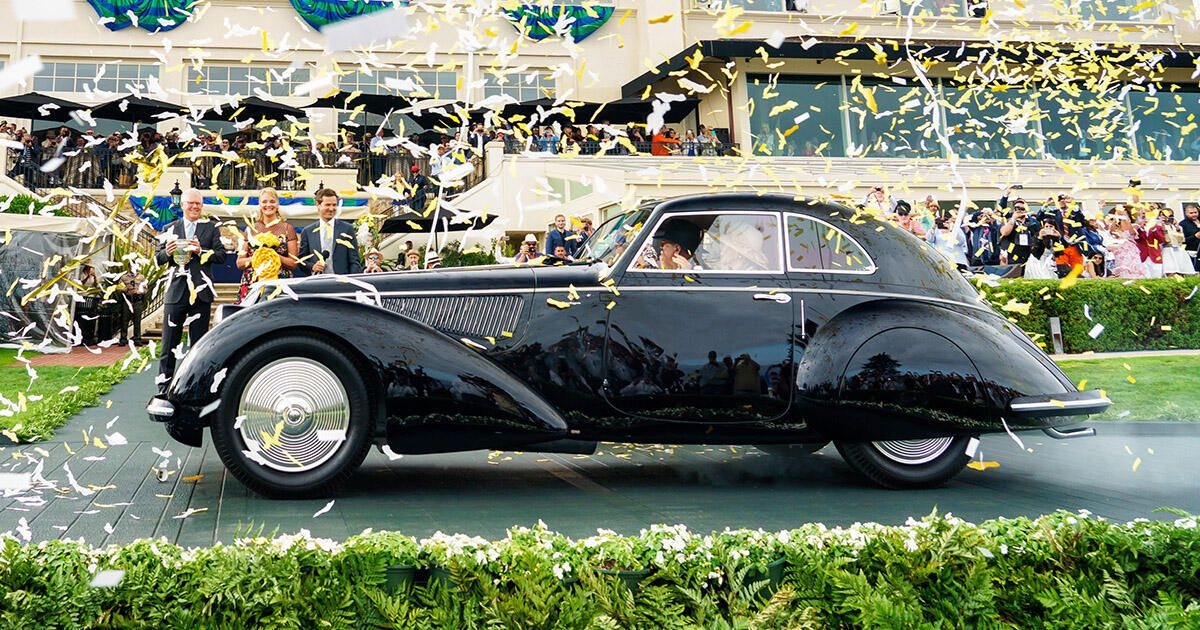 2020 Pebble Beach Concours d'Elegance canceled amid ongoing COVID-19 pandemic