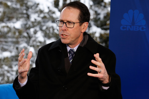 AT&T CEO steps down – TechCrunch