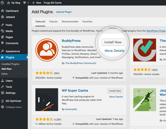 How to Install Add and Use WordPress Plugins