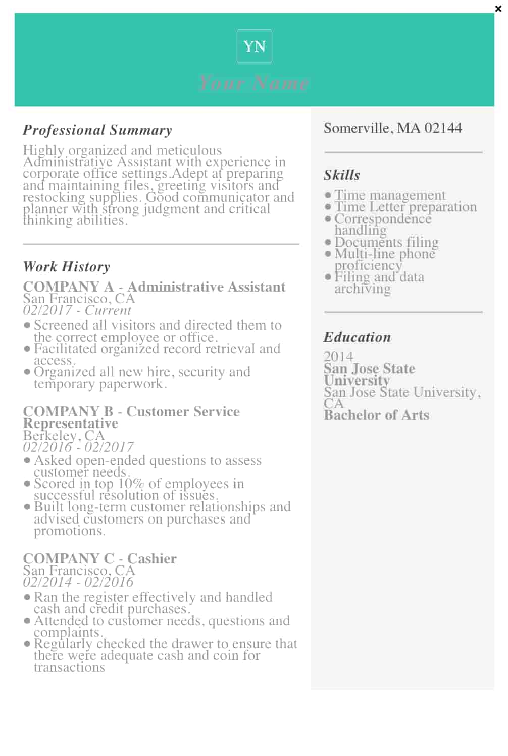 29 Free Resume Templates for Microsoft Word & How to Make ...
