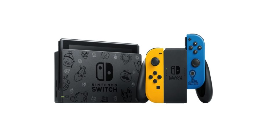 Nintendo is releasing a special Fortnite edition Switch