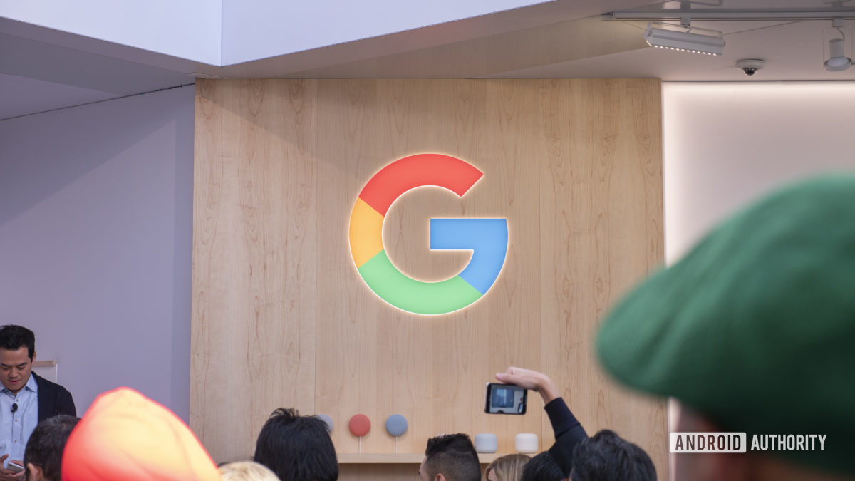 google logo G at ces 20201