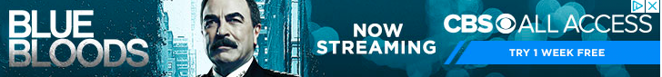 Banner ad for Blue Bloods