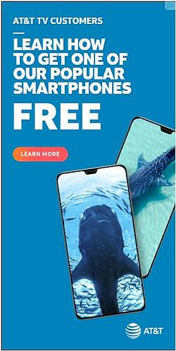 banner ad for at&t