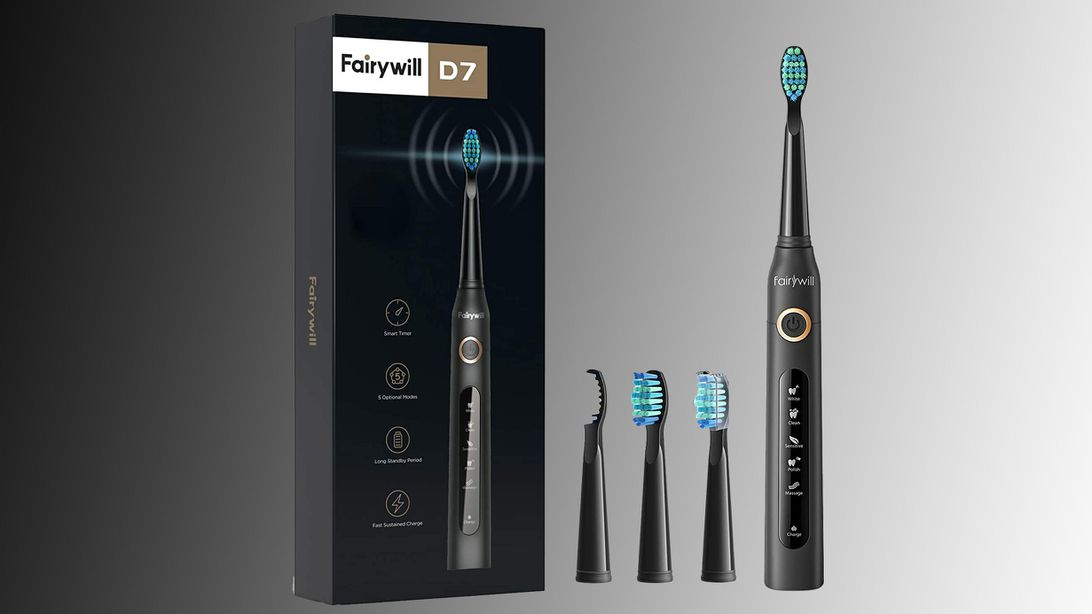 Brush for a full year with this ADA-approved electric toothbrush for $16