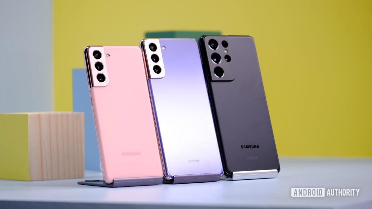 Samsung Galaxy S21 versus S21 Plus versus S21 Ultra 1 1