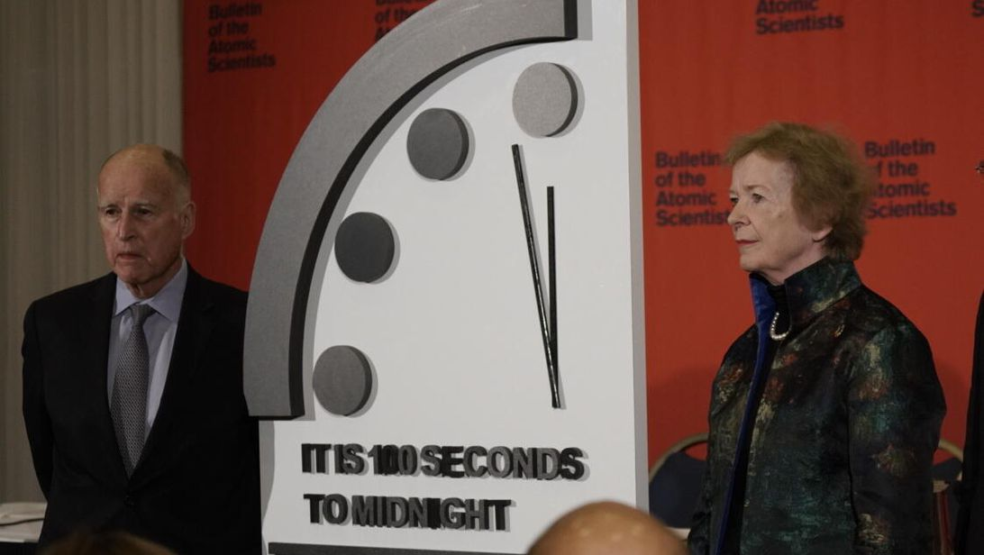 Tomorrow we find out if the Doomsday Clock ticks closer to midnight