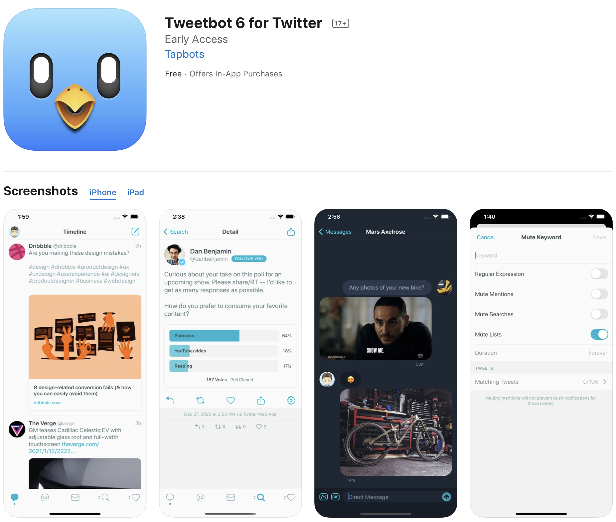 Tweetbot 6 released with new subscription pricing – ProWellTech