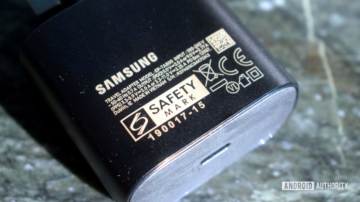 Samsung Galaxy 21 Charger 25W USB PD PPS