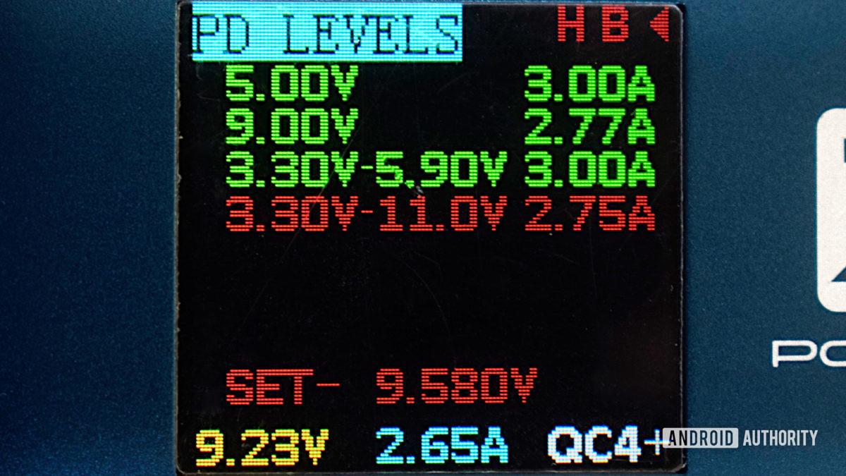 Samsung Galaxy 21 preferred power input