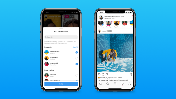 Instagram launches 'Live Rooms' for live broadcasts with up to four creators – ProWellTech