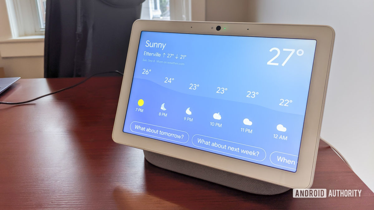 Google Home Hub Max Rating Dec.