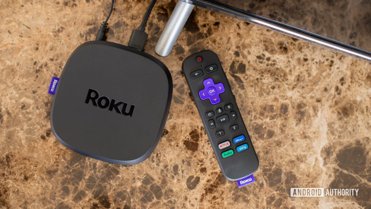 Roku Ultra connected to TV 2