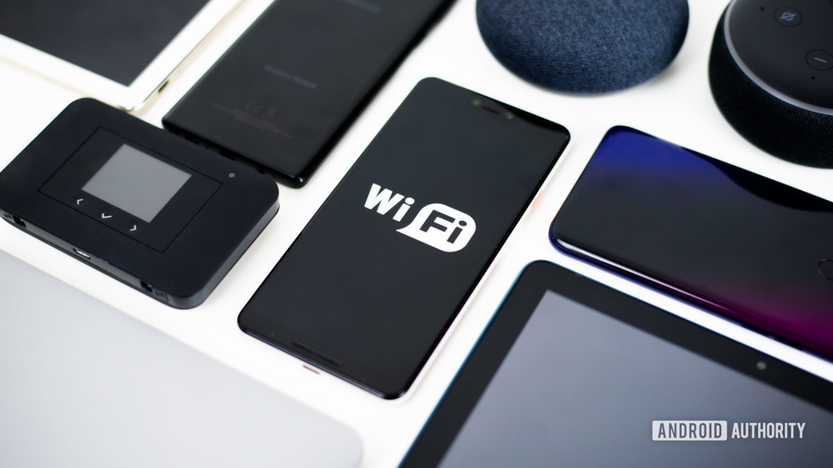 Wi-Fi devices stock photo 1