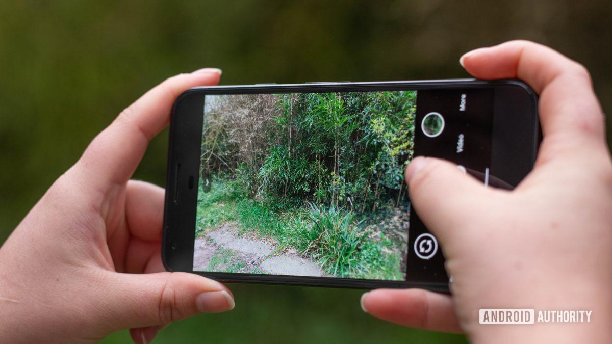Pixel 1 camera app