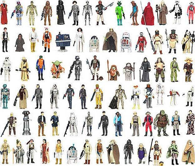 Star Wars Action Figure Brand Extension