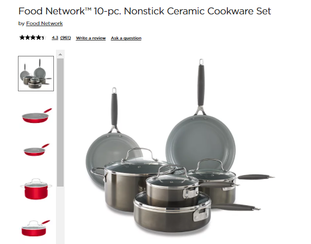 Food Network Kitchen Items Brand Extension