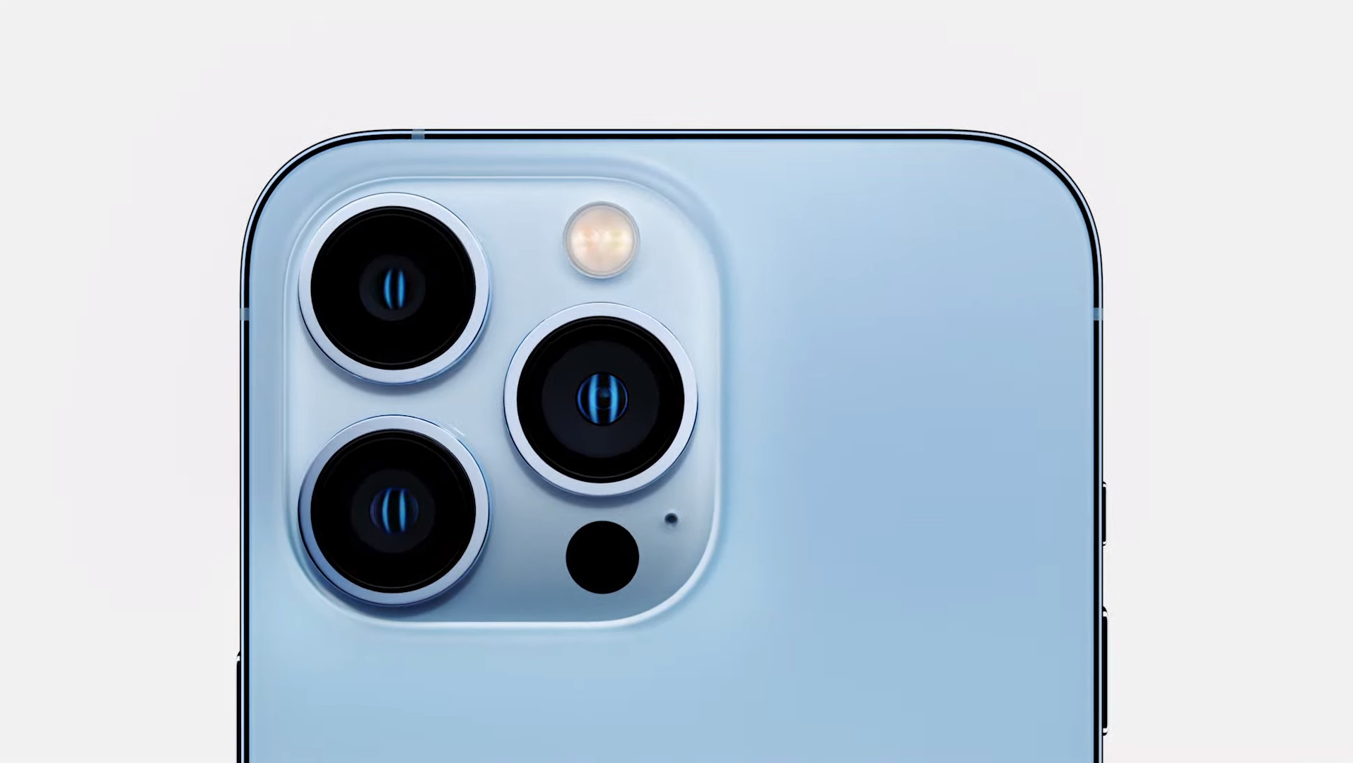 iPhone 13 Pro back cameras